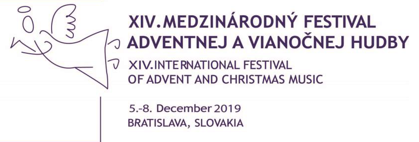 XIV International festival of advent christmas music logo